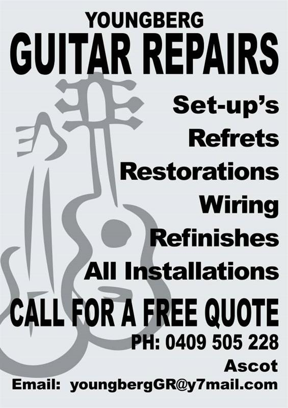 YOUNGBERG GUITAR REPAIRS image