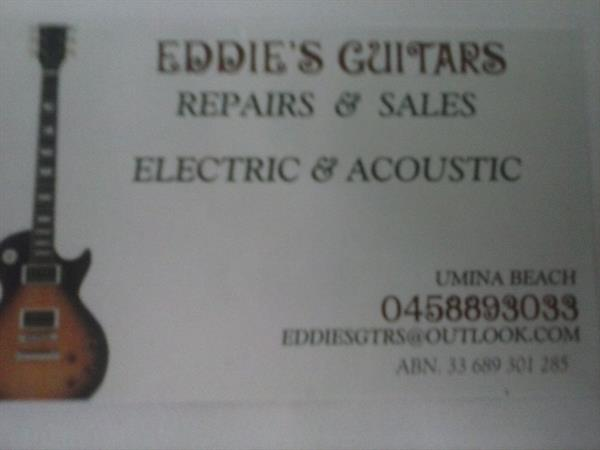 EDDIE'S GUITARS image